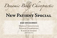 Postcard for Dynamic Body Chiropractic